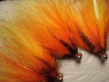 Irideus Orange Crush Heavy Head Steelhead Fly Fishing Flies Spey trophy Trout