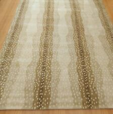 Ballard Design Persian 5'X8' Antelope Rug woolen area rug carpet RUGS EDH