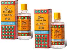 2 x Tiger Balm Liniment Oil Herbal Pain Relief Thai Original Massage 28 ml.