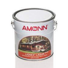 IMPREGNANTE LEGNO PROTETTIVO SOLVENTE AMONN LIGNEX LASUR 0,75LT - 10 NOCE CHIARO