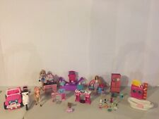Barbie Furniture HORSE Jeep Moped Bed BATHTUB Hair Salon Accessories HUGE LOT!