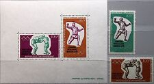 CAR CENTRAL AFRICAN REP 1972 289-90 Block 8 C100-01a Olympics München Boxing MNH