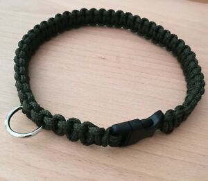 Strong Hand made paracord dog collar