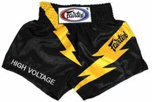 "Fairtex ""HIGH VOLTAGE"" Muay Thai Kickboxing Shorts - BS0656"
