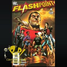 Flashpoint #4 RAGS MORALES VARIANT Shazam DC Comics VF/NM R217