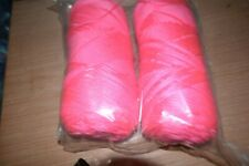 Southern Belle Mill End Yarn 12 oz Neon Pink  4 Ply Acrylic Color per Photo