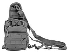 East West RT514-GY GREY Tactical Sling Chest Shoulder Utility Bag