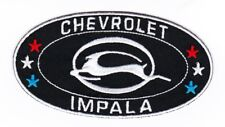 CHEVY IMPALA 2x4 SEW/IRON ON PATCH EMBROIDERED LOWRIDER