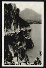 Postkarte Brescia See Gardasee-gardesana Western und STRADA der Ponale