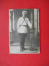 USSR 1930-th Russian policeman in uniform. Russia. Militsiya, Police. Real photo