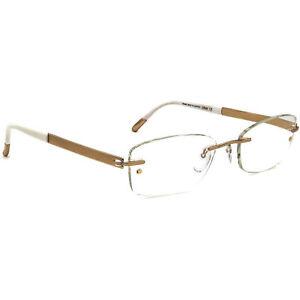 Silhouette Eyeglasses 4261 20 6051 7779 Titan Gold Rimless Austria 49[]17 135