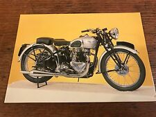Vintage 1939 500cc Triumph Tiger 100 National Motorcycle Museum Postcard (C)
