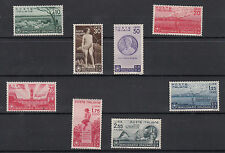 1936 Italia Regno Bimillenario nascita Orazio Sassone 398/405 NUOVA LUSSO MNH**