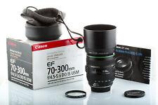 Objectif Canon EF 70-300mm DO IS USM pour EOS 80D 7D 6D 5D (75) Garanti 6 mois