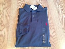 Polo Ralph Lauren long sleeve interlock big pony shirt navy blue gray red S L 2X