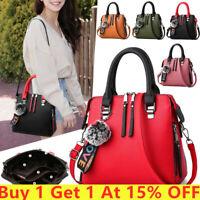 NEW Women Satchel Messenger Leather  Briefcase Shoulder Bag Tote Purse Handbags
