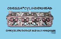 CHRYSLER DODGE DAKOTA MAGNUM RAM 5.2 5.9 OHV 318 360 CYLINDER HEAD 92-04 REMAN