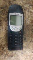 Nokia 6210 unlocked  Model 2004