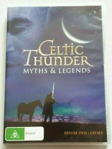 Celtic Thunder Myths AND Legends (DVD + CD ALBUM) RARE - Australian PAL Region