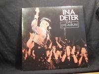 Ina Deter Das Live-Album    2 LPs