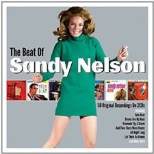 Sandy Nelson The Beat Of 2-CD NEW SEALED Let There Be Drums/Teen Beat/Tequila+