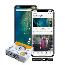 ANGLR Bullseye Bluetooth Fishing Tracker GPS, Weather, & Water Temp Data Tracker