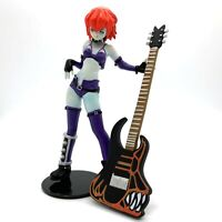 Vampire Savior ZABEL Blue Secret Guitar Mini Figure Yujin Anime Game Gashapon