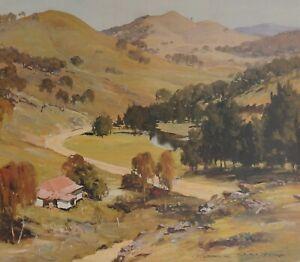 Doug Sealy, The Turon Valley,  Superb Australian Landscape.