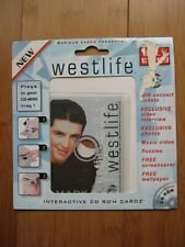 More details for westlife interactive cdrom card mark feehily video interview photos puzzles 2000