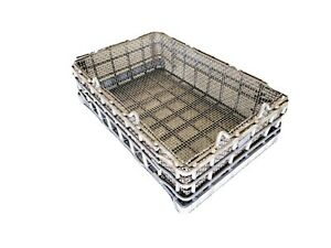 Heat Treat Basket - corrosion resistant, high temperature alloy furnace basket.