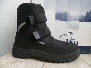 Manitu Men's Boots Winter Boots Spikes Tex Waterproof Black New