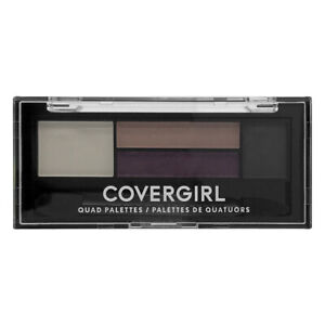 Covergirl 730 Quad Palettes Cherry Soda Eye Shadow 1.8g New & Sealed With Brush