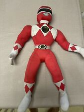 Vintage 1994 Kid Dimensions Red Power Rangers Stuffed Toy Plush w/ Moveable Arms