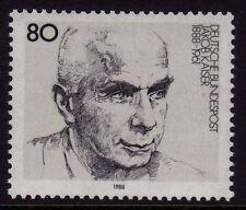 Alemania Occidental estampillada sin montar o nunca montada sello conjunto Deutsche Bundespost Jakob Kaiser 1988 SG 2226