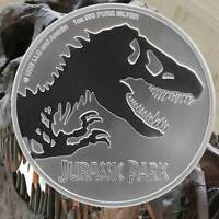 Niue Jurassic Park 1 oz .999 Silver Coin BU Free Shipping, In Stock With Capsule