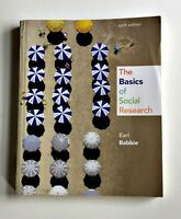 The Basics of Social Research by Earl R. Babbie (2013, Paperback)