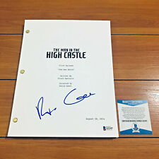 RUFUS SEWELL SIGNED MAN IN THE HIGH CASTLE FULL PILOT SCRIPT w/ BECKETT BAS COA