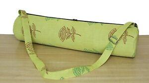 Indian Handmade Yoga Beach Bag Gym Exercise Carrier Mat Bag Shoulder Strap