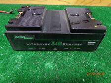 Anton Bauer Lifesaver Q2 Dual Fast Battery Camera Charger InterActive Logic