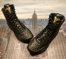 Nike Kobe X 10 Elite EXT QS Black/Metallic Gold Mens Size 11.5 822950 001 New