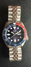 Seiko Pepsi Diver Day/Date Automatic. Watch. SOLID BACK. Brand New Never Worn