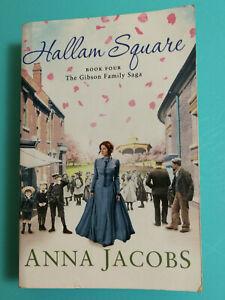 Hallam Square Book Four Gibson Family Drama Anna Jacobs Historical PB