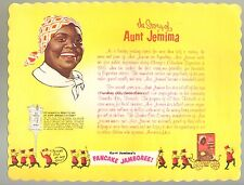 1950s Disneyland Vintage Aunt Jemima Pancake Jamboree Queen Black Americana