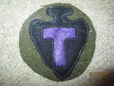 WWI US Army 36th Division.MG unit Patch AEF