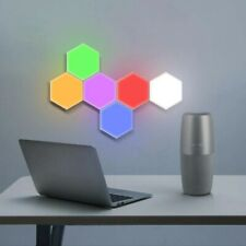 Hexagon LED Light Panels 6 Pieces
