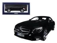 2014 Mercedes S Class Coupe Black 1-18 Diecast Model Car by Norev