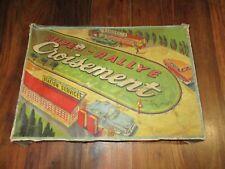Gem, Autorail Super Rallye croisement jouet vintage jouet mécanique en boite