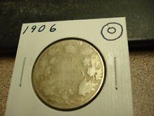 1906 - Canada - silver 50 cent coin - Canadian half dollar
