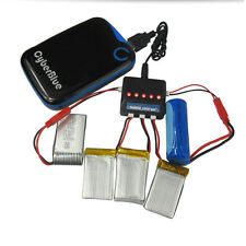 5 in 1 3.7V Lipo Battery Usb Charger + JST Plug Cable For Walkera Hubsan Wltoys