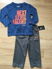 NEW!! Under Armour Outfit Baby Toddler Size 18 Months Next Level talent